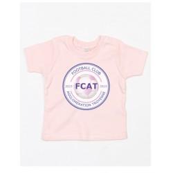 T-shirt Bébé Manches courtes Uni FCAT